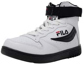 Fila Men's Fx-100 Sl White / Black Red High-Top Fashion Sneaker - 8M