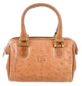 Fendi Leather Mini Satchel