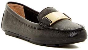 Calvin Klein Lisette Glazed Leather Loafer