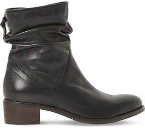 Dune Pager leather ankle boots