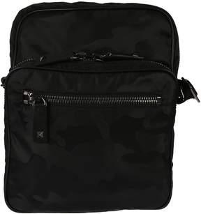Valentino Camouflage Multi Zip Shoulder Bag