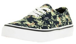 Vans Kids Authentic (glow In The Dark) Skate Shoe.