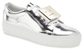Acne Studios Women's 'Adriana' Silver Metallic Sneaker