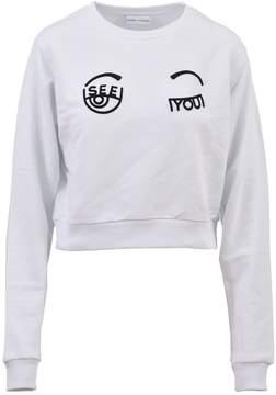 Chiara Ferragni I See You Cropped Sweatshirt
