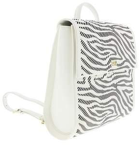 Roberto Cavalli Backpack Audrey 004 White/black Backpack