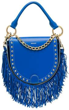 Sacai Horseshoe leather shoulder bag