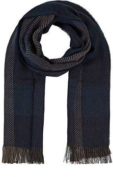 Barneys New York MEN'S STRIPED KNIT SCARF