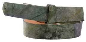 Alexander McQueen Satin Waist Belt