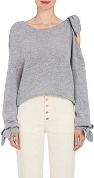 Derek Lam 10 Crosby Women's Tied-Shoulder Knit Cashmere Sweater