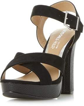Head Over Heels *Head Over Heels by Dune Black 'Miya' High Heel Sandals