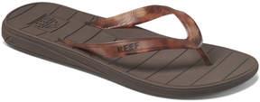 Reef Black & Brown Switchfoot Lux Flip-Flop - Men