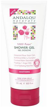 Andalou Naturals 1000 Roses Soothing Shower Gel - 8.5 Oz