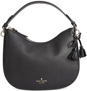Kate Spade Aiden Hobo Bag - BLACK - STYLE