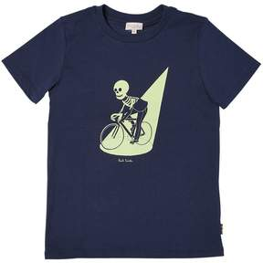 Paul Smith Glow In The Dark Skeleton Jersey T-Shirt