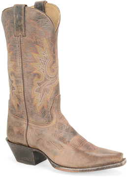 Sonora Chocolate Desert Brilliance Leather Cowboy Boot