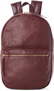 Herschel Burgundy Lawson Leather Backpack