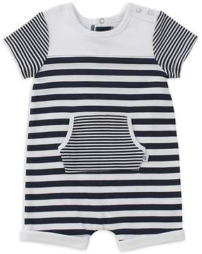 Absorba Boys' Contrast Striped Romper - Baby