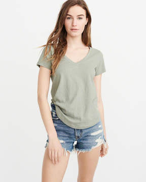 Abercrombie & Fitch V-Neck Icon Tee