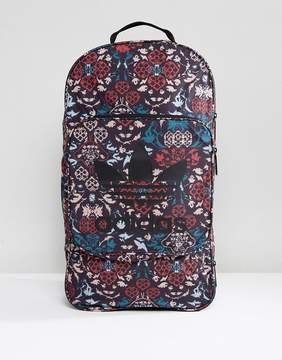 adidas Ornamental Backpack In Black