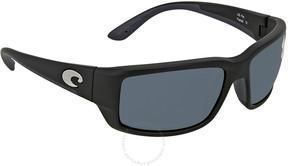 Costa del Mar Fantail Medium Fit Grey Rectangular Sunglasses TF 11 OGP
