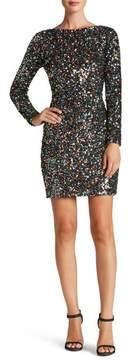 Dress the Population Women's Lola Ombre Sequin Body-Con Dress