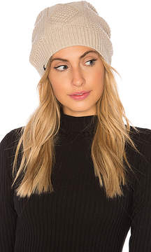 Plush Fleece Lined Cable Knit Beanie