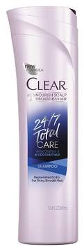 Clear 24/7 Total Care Shampoo - 12.9oz