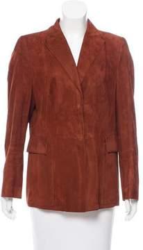 Akris Structured Suede Jacket