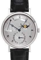 Breguet Classique Power Reserve Silver Dial Automatic White Gold Men's Watch