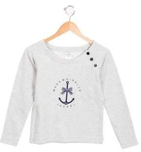 Jacadi Girls' Printed Sweatshirt w/ Tags