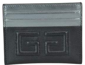 Givenchy 2g Bicolor Leather Cards Holder