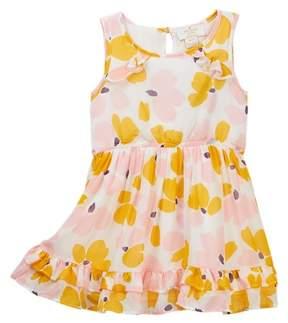 Kate Spade ruffle back dress (Toddler & Little Girls)