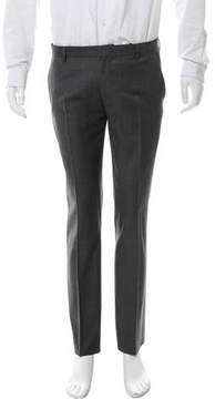 Christian Dior Flat Front Wool Pants