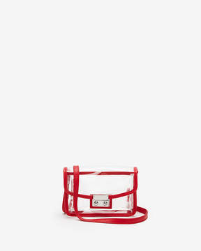 Express Red Trim Clear Event Bag