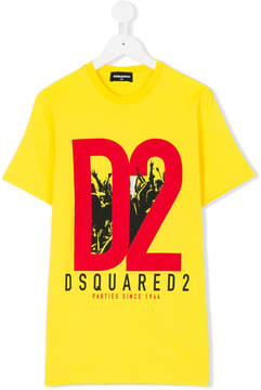 DSQUARED2 Parties since 1964 print T-shirt