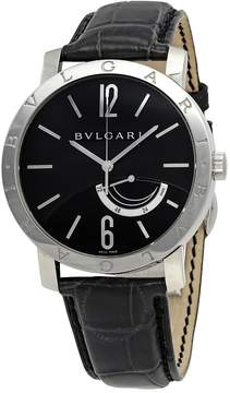 Bvlgari Mechanical Black Dial Steel Men's Watch BB41BSL
