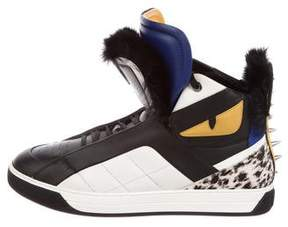 Fendi Leather High-Top Sneakers w/ Tags