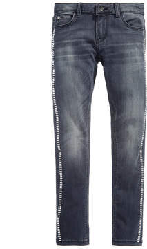 GUESS Super Skinny Studded Jeans, Big Girls (7-16)