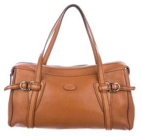 Tod's Contrast-Stitched Leather Bag