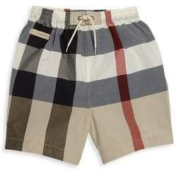 Burberry Baby's & Toddler Boy's Check Swim Trunks