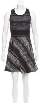 Andrew Marc Convertible Mini Dress