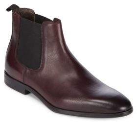 a. testoni Beatles Redle Leather Chelsea Boots