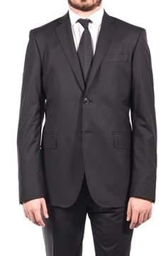 Pierre Balmain Wool Two Button Suit Charcoal Black.