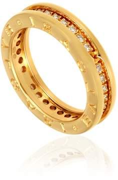 Bvlgari B.zero1 18kt Yellow Gold Diamond Size 7.25