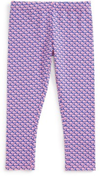 Vineyard Vines Toddler Girl's Whale Print Leggings