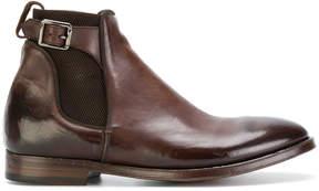 Alberto Fasciani buckled chelsea boots
