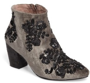 Free People Women's Night Out Velvet Bootie