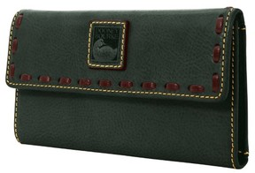 Dooney & Bourke Florentine Continental Clutch Wallet - IVY - STYLE
