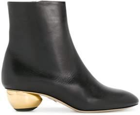 Paul Andrew contrast-heel boots