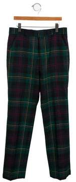 Brooks Brothers Boys' Wool Plaid Pants
